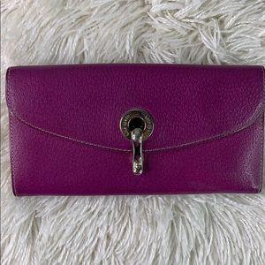 Vintage Fuchsia Kate Spade Leather Wallet